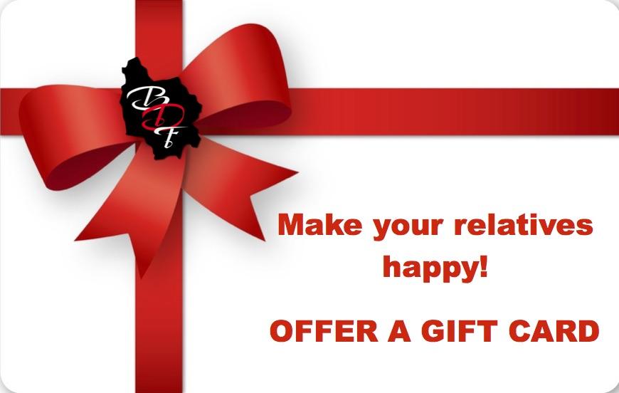 Gift card BDF